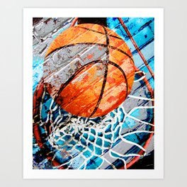 Modern basketball art 3 Kunstdrucke