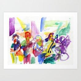 Ehud Banai Art Print