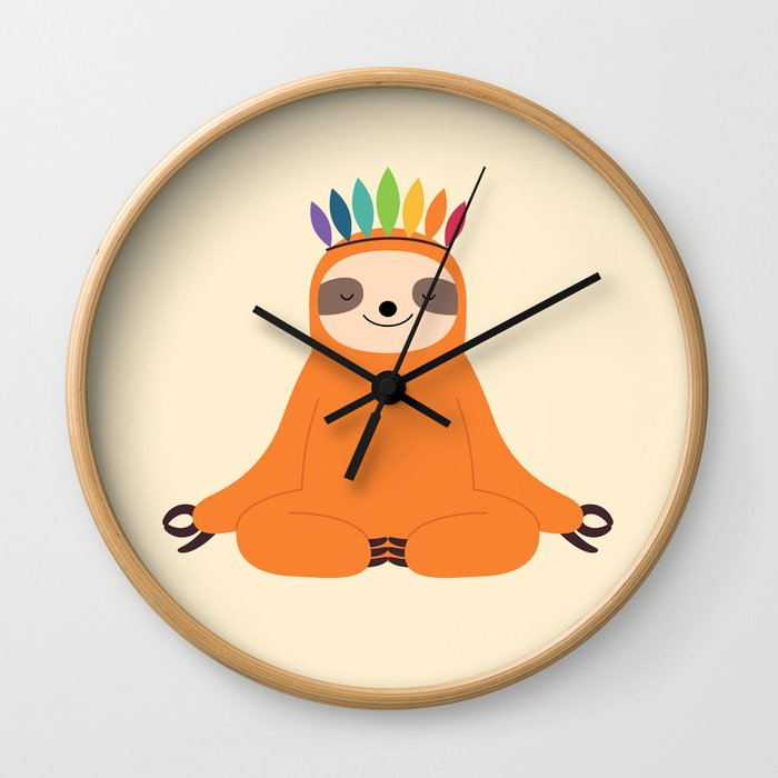 Master Of Calm Wall Clock