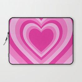 Beating Heart Pink Laptop Sleeve