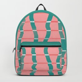 curvy stripes Backpack