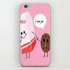 Milk and cookie love  iPhone & iPod Skin
