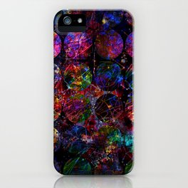 Looking through Space iPhone Case
