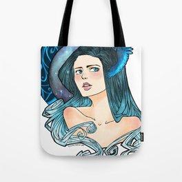 Celestial Blue Tote Bag