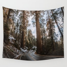 Giant Forest Exploring Wall Tapestry