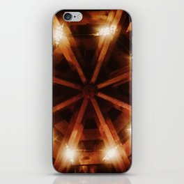 Shining in the darkness iPhone Skin