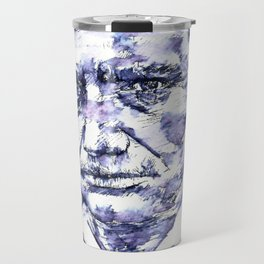 CHARLES BAUDELAIRE - watercolor portrait.2 Travel Mug