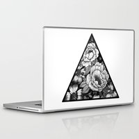 triangle Laptop & iPad Skins featuring Triangle by adroverart