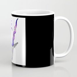 Moonset Antlers Coffee Mug