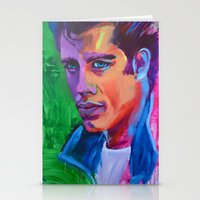 grease Stationery Cards featuring Grease by Alejandro Castanon