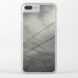 Cruces en el cielo Clear iPhone Case