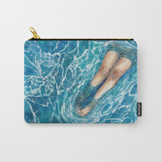 See Me Sea Foam I: When I Grow Up... Carry-All Pouch
