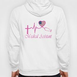 medical assistand nurse t-shirts Hoody