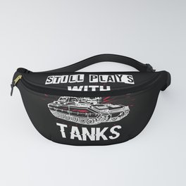 funny tank driver t-shirt for tank fans Fanny Pack