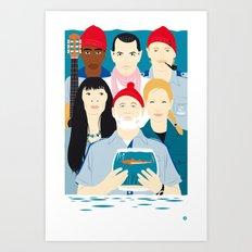 Steve's trophy (Faces & Movies) Art Print