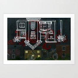 Hell's Paradise (no text) Art Print