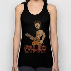 Paleo Before It Was Cool Crossfit Design by RonkyTonk Unisex Tank Top