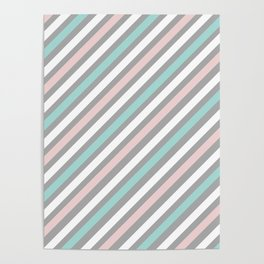 INFINITE LINES (abstract pattern) Poster