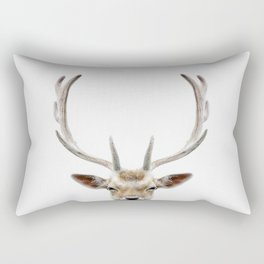 Deer Head Rectangular Pillow