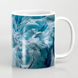 Blue Ice Glacier in Norway - Landscape Photography Coffee Mug