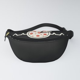 Funny Pepperoni Pizza Heartbeat Gift Fanny Pack