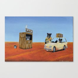 The Outback ATM Canvas Print