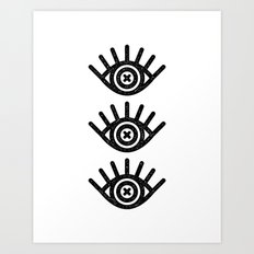 BRIGHT EYES Art Print