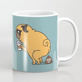 Coffee makes me poop Coffee Mug