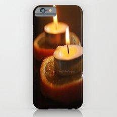 Orange Candles iPhone 6s Slim Case