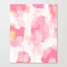 Adonia - blush pink abstract art Leinwanddruck
