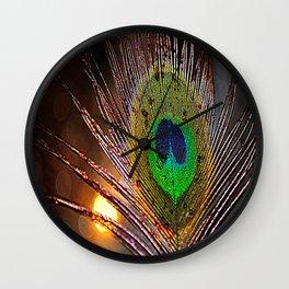 Pfau Licht Wall Clock