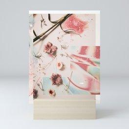 Floral Wave Mini Art Print