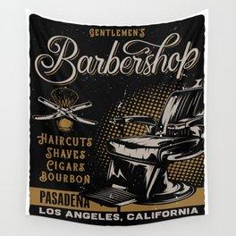 Gentlemen's Barber Shop LA Wall Tapestry
