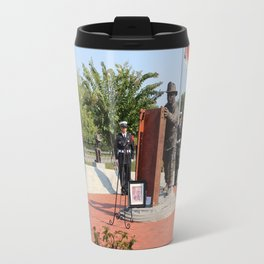 Wreath Ceremony Travel Mug