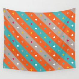 Confetti Stripes Wall Tapestry