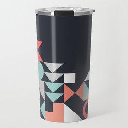 Modern Geometric 30 Travel Mug