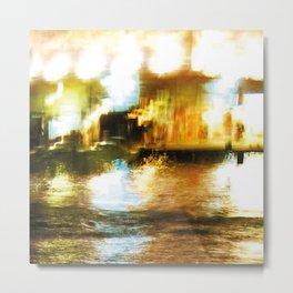 City Lights: Venice – Canal Grande – San Simeone Piccolo # 254 Metal Print