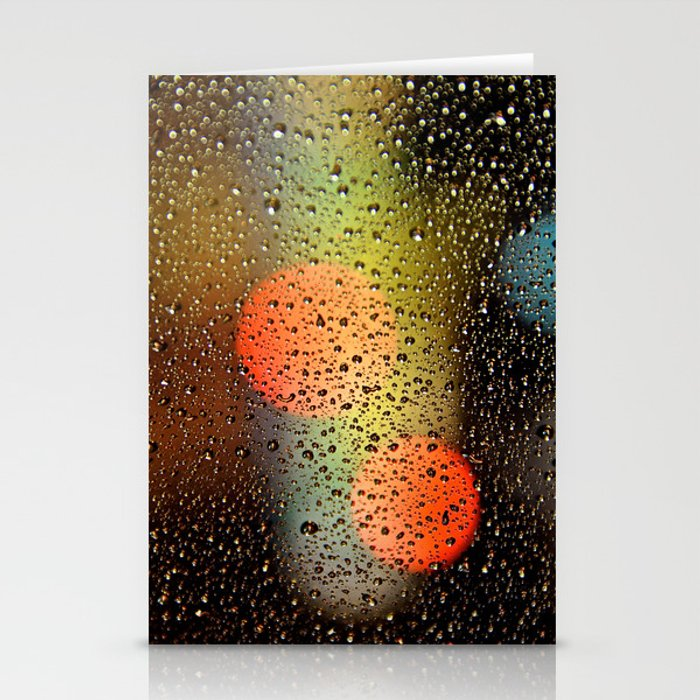 Rain Drops and Color Pops Stationery Cards