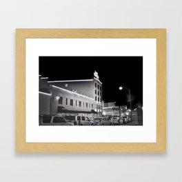 Wintery Night Framed Art Print