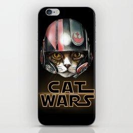 Cat Wars Dameron iPhone Skin