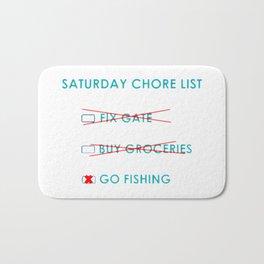 Chore List Bath Mat