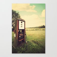 The Old Gas Pump Canvas Print