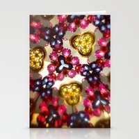 kaleidoscope Stationery Cards featuring Kaleidoscope by ADH Graphic Design