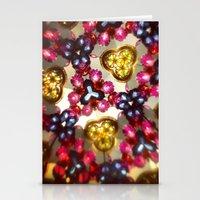 kaleidoscope Stationery Cards featuring Kaleidoscope by Amber Dawn Hilton