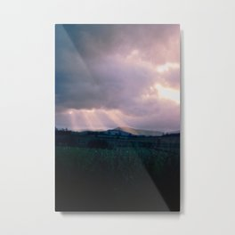 Rays Metal Print
