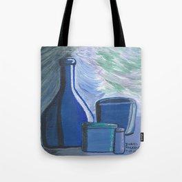 Blue Rhapsody Shadow World Tote Bag