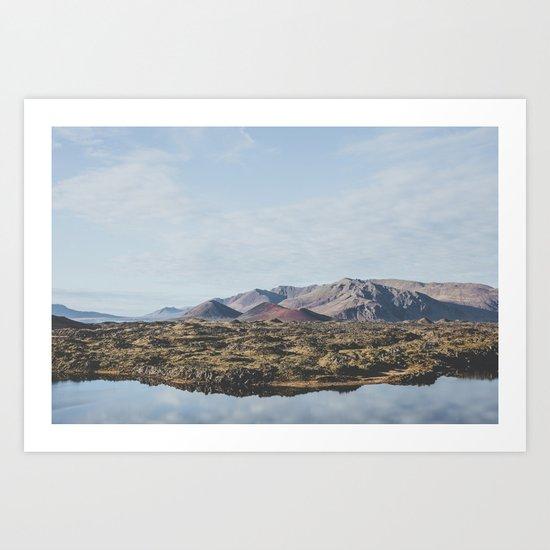 Borgarnes, Iceland Art Print