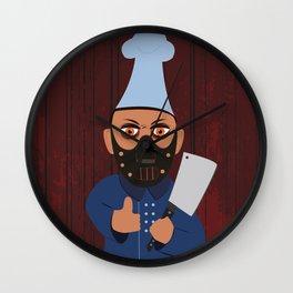 Chef Hannibal Wall Clock