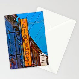 Liquors Stationery Cards