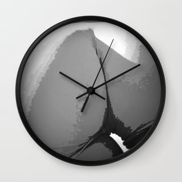 Dat Ass Though Gray Wall Clock